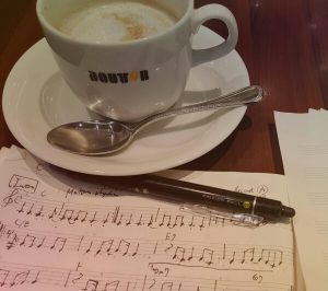 songwriting at Doutor